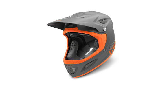 Giro Cipher Downhill hjelm orange/sort